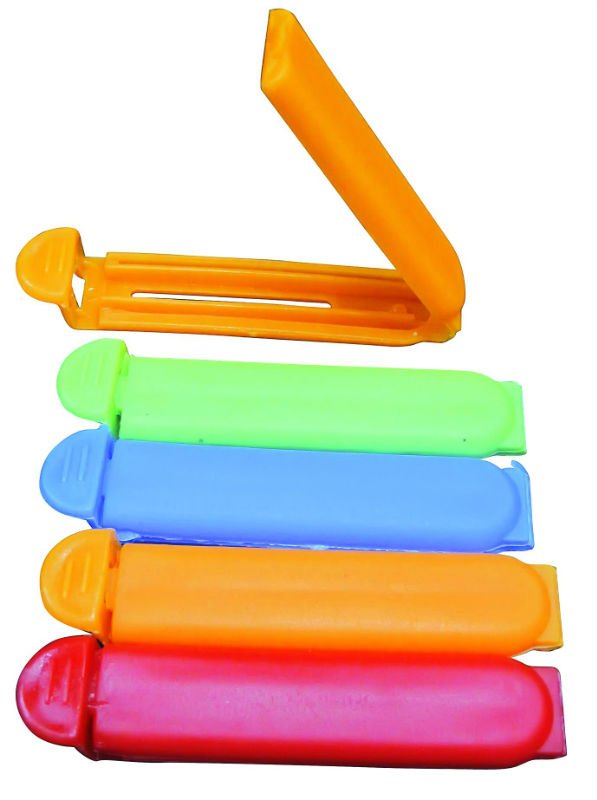 Home Kitchen Food Snacks Chips Food Sealing Clip a custom plastic food bag clips