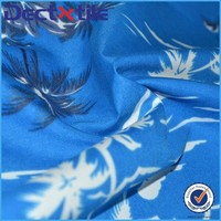 Wholesale Hawaiian hibiscus trim basketball shorts fabric