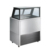 Commercial Freezer Equipment Split Embedded Italian Ice Cream Display Counter