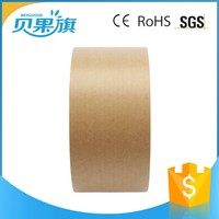 all colors different size sticky waterproof custom printed packing kraft papper adhesive tape for diaper
