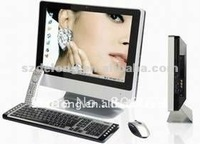 Touch All In One Computer with Intel D525 Dual-Core1.8GCPU,I3/I5,Aluminum Case,DOS, WINDOWS, LINUX etc