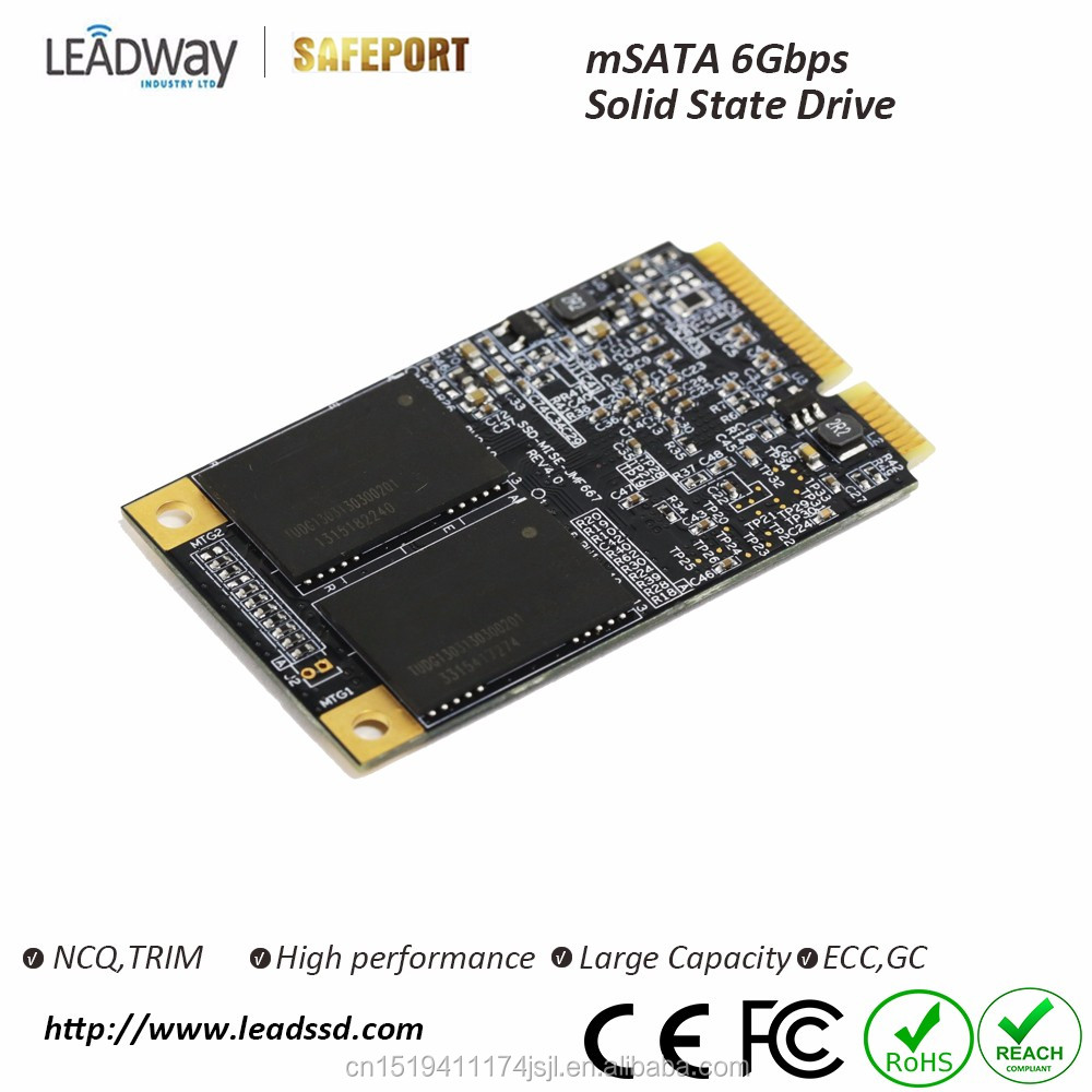 Industrial SSD mSATA3 64GB hard disk up to 1TB solid state drive for industrial PC support OEM