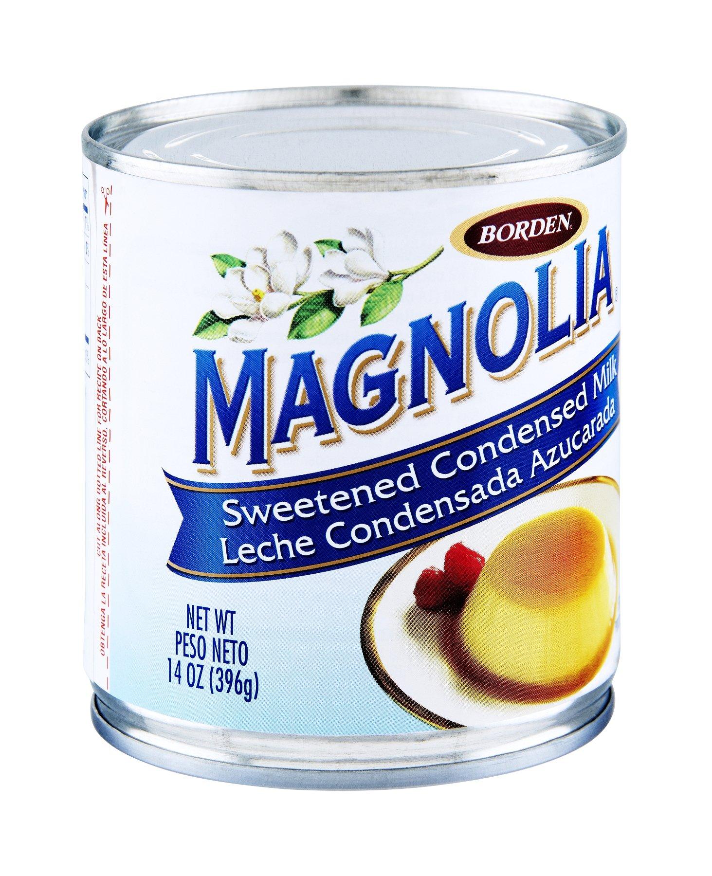 Borden, Magnolia, Sweetened Condensed Milk, 14oz Can (Pack of 6)
