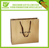 Shopping Custom Printed Logo Paper Bag