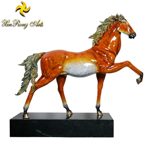 High Quality Bronze Horse Statues Metal Sculpture New Product Life Size Bronze Horse Statue