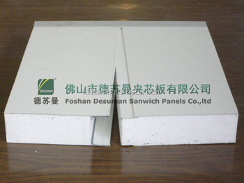 CE&ISO approved eps sandwich panel for Malaysia markert