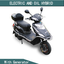 cheap chopper hybrid electric motorcycle with 72v