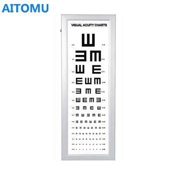 Snellen Eye Chart Light Box For Visual Test Buy Snellen Eye Chart