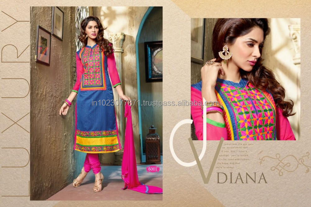 Antra chanderi straight suits
