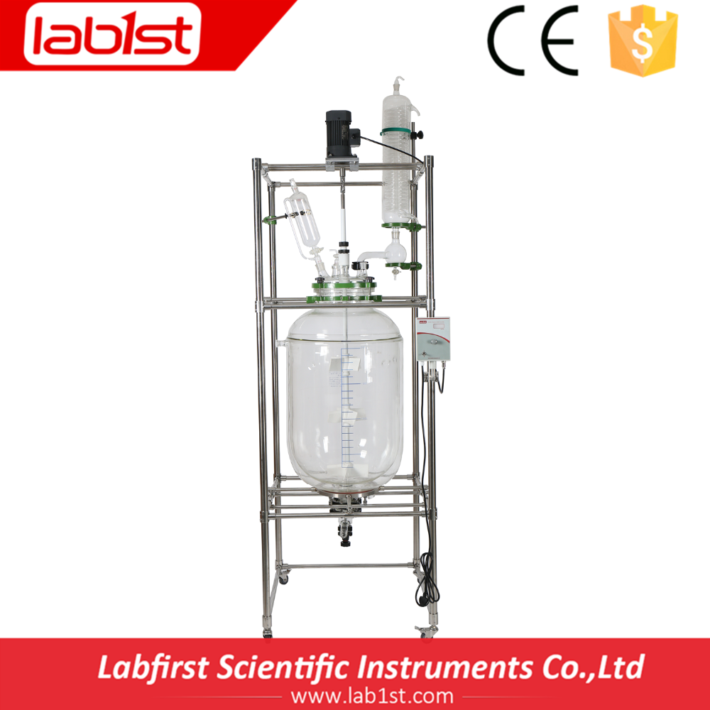 Laboratory Glass Reactor made of High Borosilicate Glass