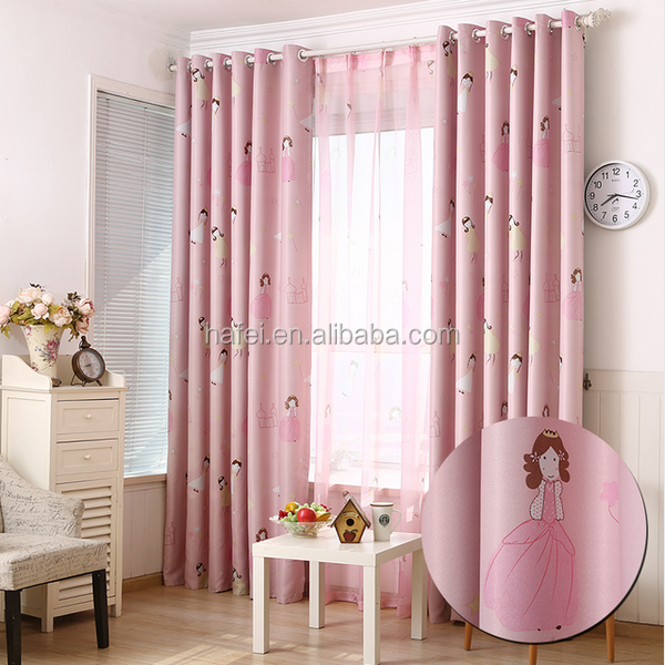 Factory made children living room home textile blackout curtain