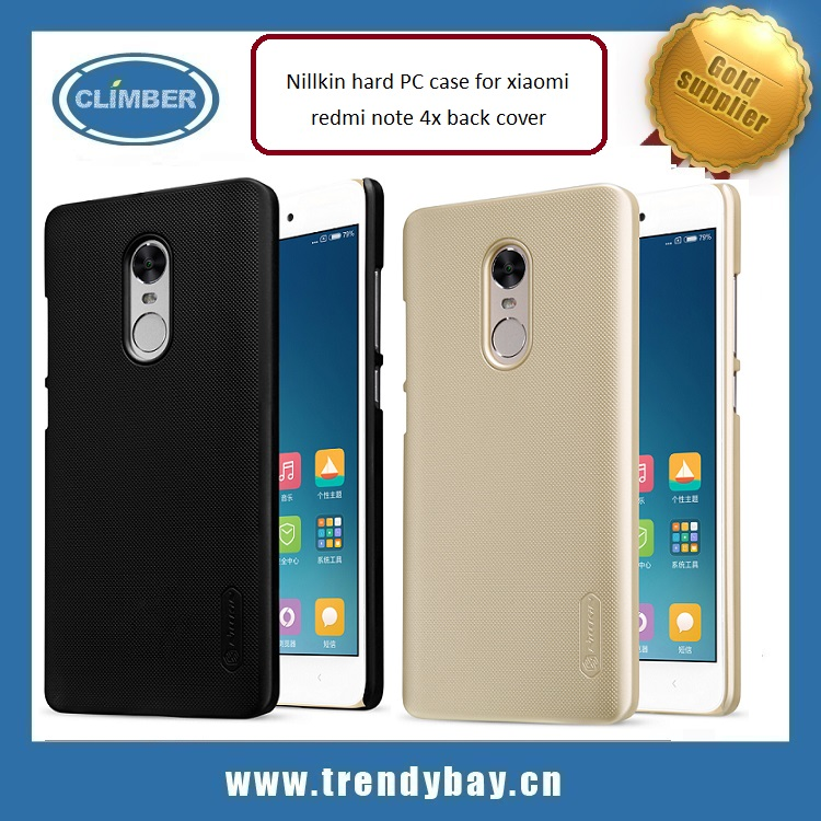 Nillkin hard PC case for xiaomi redmi note 4x back cover