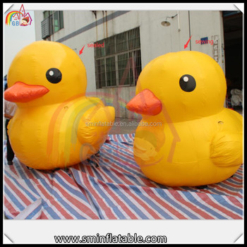 Pvc Sealed Or Sewing Inflatable Rubber Duck , Giant Inflatable Duck ,  Inflatable Donald Duck For