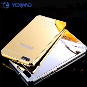 differently 445ba 7b887 Luxury Aluminum Metal Bumper Mirror Phone Case Plastic Back Cover For  Huawei Honor 4x - Buy Metal Bumper Back Case For Huawei Honor 4x,Back Cover  For ...