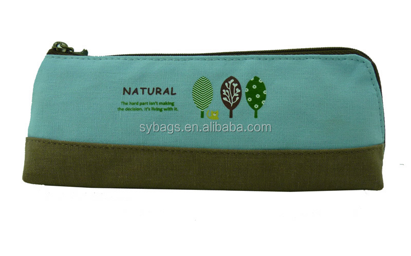 school and office using pencil cases / Hot sell cloth pencil bag for kids / New design pencil bags for children
