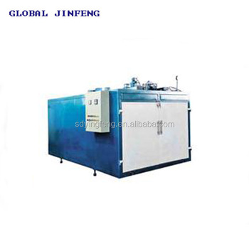JF-LE 1824 Double door 2 beds EVA film Laminated glass produce machine and oven