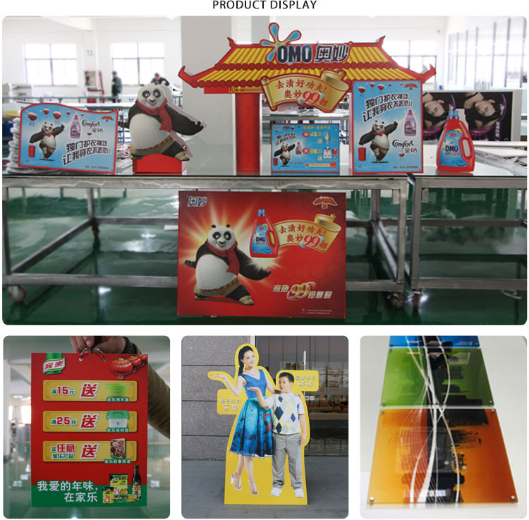 Cheap UV board printing ABS plastic board / KT board