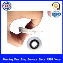 F6200ZZ drawer pulley, plastic bearing with flange