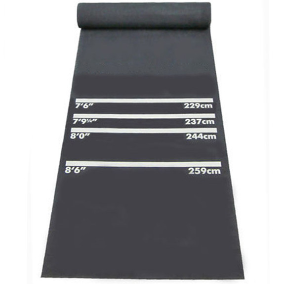 Custom logo dart equipment rubber dart mat