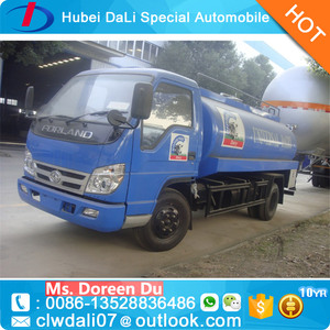 3 Ton Forland Fresh Milk Transport Tank Truck Milk Tanker Trucks for sale