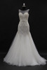 New arriveal! Nice swarovski crystal beaded blingbling trumpt mermaid bridal wedding dress