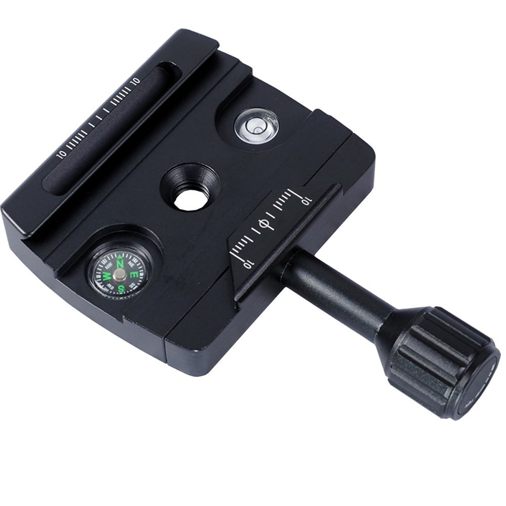 iShoot All-metal Clamp IS-JZ70MFT Compatible with Manfrotto 490 494 496 498 054 055 057 Ball Head & 200PL 410PL Quick Release Plate, RRS BH55 BH40 BH30 BH25 Ballhead, and Arca-swiss Fit Tripod Ball Head & Camera Quick Release Plate