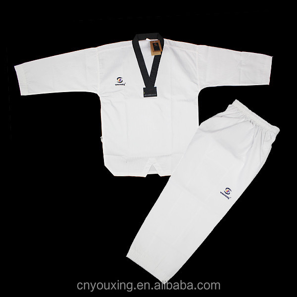 White Taekwondo Uniform Dobok
