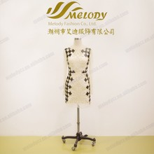 Three-dimensional pattern casual long sleeve short length custom bodycon dress