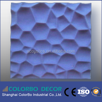 3D Polyester Fiber Acoustic Panels For European And Australia Marketing