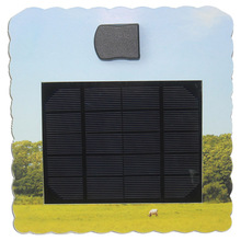 Advertising portable paper card solar charger panel for mobile phone