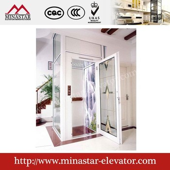 China cheap passenger small home elevator lift residential for Cheap home elevators