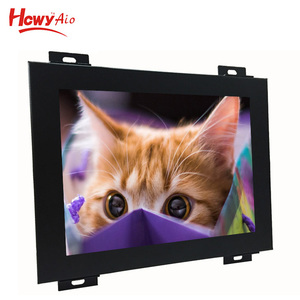 Embedded LCD Display 7 inch Square Screen Open Frame Touch Monitor With Industrial Panel