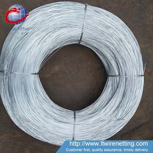 Anping Supplier Low Price 18 20 22 Gauge Gi Binding Wire For Sale
