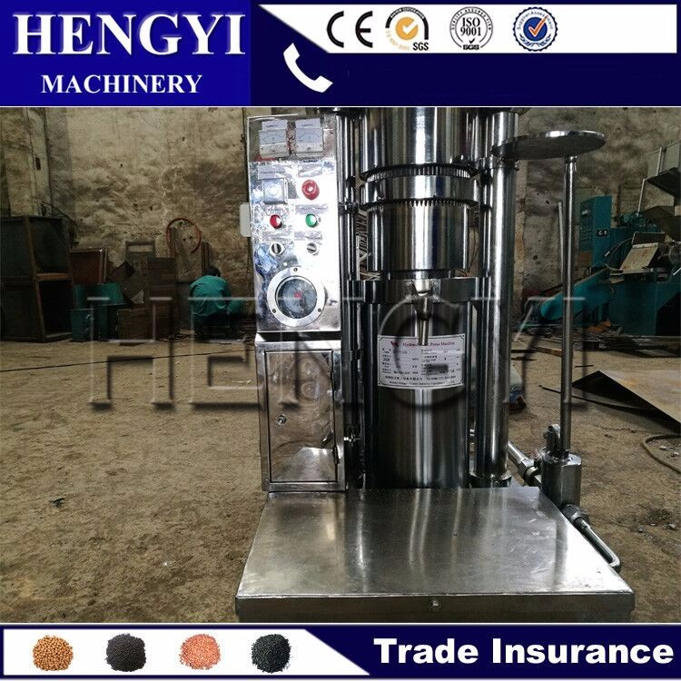Wide application safflower oil extraction machine