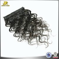 JP Hair Top Quality Low Price 7 Pieces 100g Easy Clips Hair Extensions