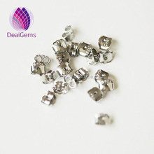 Wholesale price sterling silver stamped 925 earring flat back stud finding