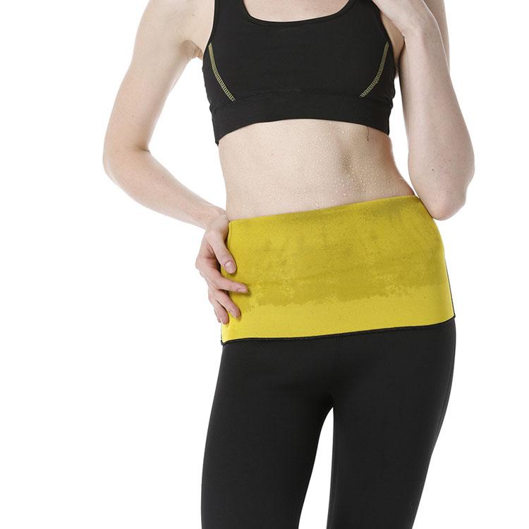 3a74f48c566d1 Hot neoprene body shaper fitness trainer lose weight control slip shapewear  slimming modeling strap women ultra sweat waist belt