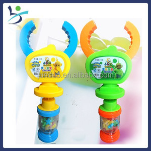 Grip clamp retractable toy candy toy candy dispenser jelly bean dispenser