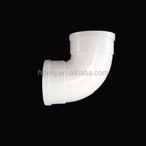 32mm 40mm 50mm 75mm 110mm 125mm 160mm 200mm 250mm 315mm PVC pipe of plumbing and irrigation pvc pipe fitting 90 degree elbow