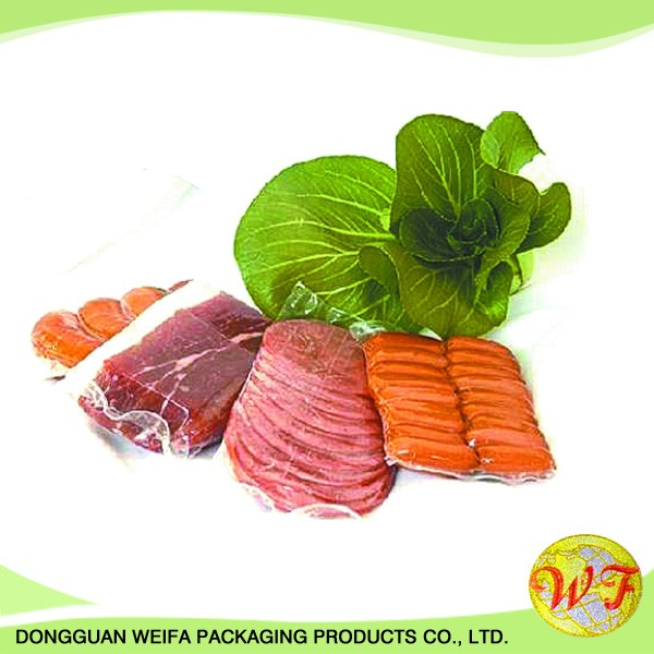 Cheap Vacuum Food Fruits Vegetables Fresh Packaging Plastic Bag