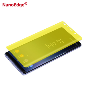 Nanoedge HD Smart Touch Anti Shock 3D Full Screen Guard For Samsung Galaxy Note 8 Protective Film note 9 screen protector