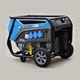 Copper Wire 220v 2kva Recoil Start Gasoline Generator 2500