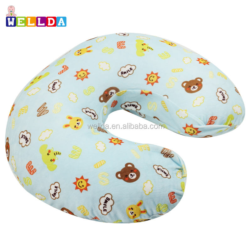 Amazon custom printing minky baby boppy nursing pillow slipcover