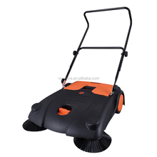 2018 Newest 700mm Manual Sweepers Hand Propelled Cleanning Machine for Home Garden And Road BMK14