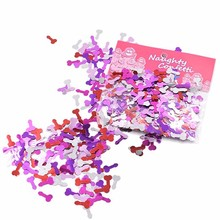 Hen Night Pecker Penis Shape Party Confetti LP3131