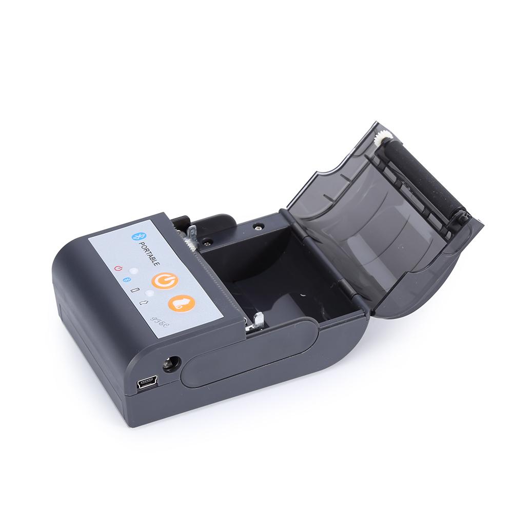 58mm small bluetooth thermal receipt printer Mini Portable Wireless Bluetooth Thermal Receipt Printer 1500Am Battery FK-P58C фото