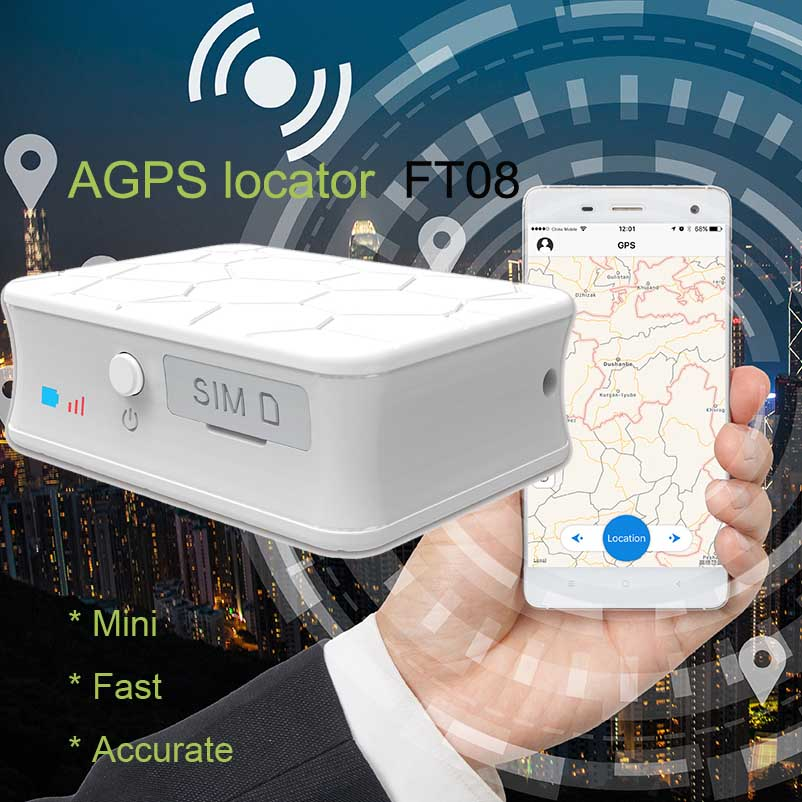 High quality accurate AGPS+LBS+WIFI+GPS tracker for vehicle