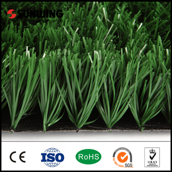 50mm PE Material artificial green football grass pitch with SGS