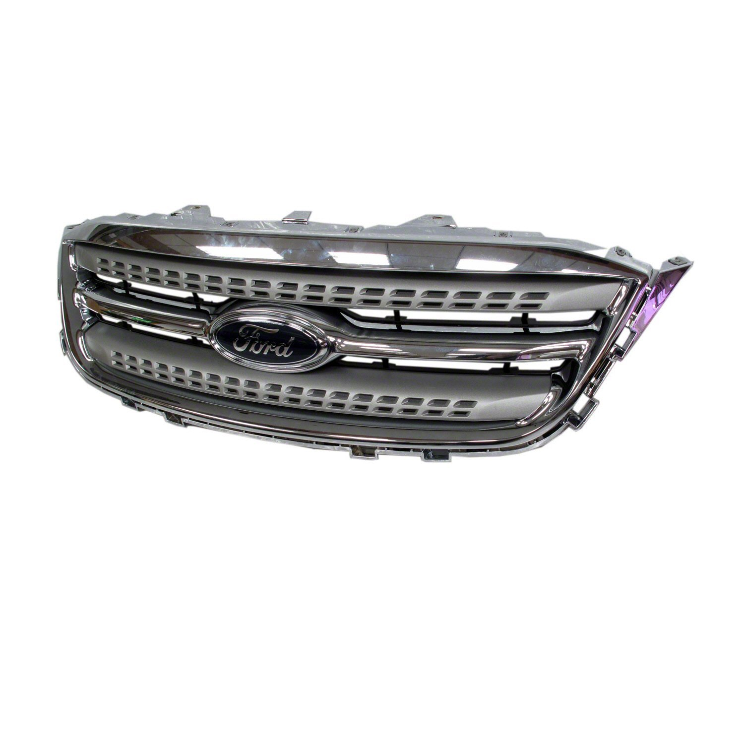 Crash Parts Plus Chrome CAPA Grille Assembly for 2010-2012 Ford Taurus FO1200525
