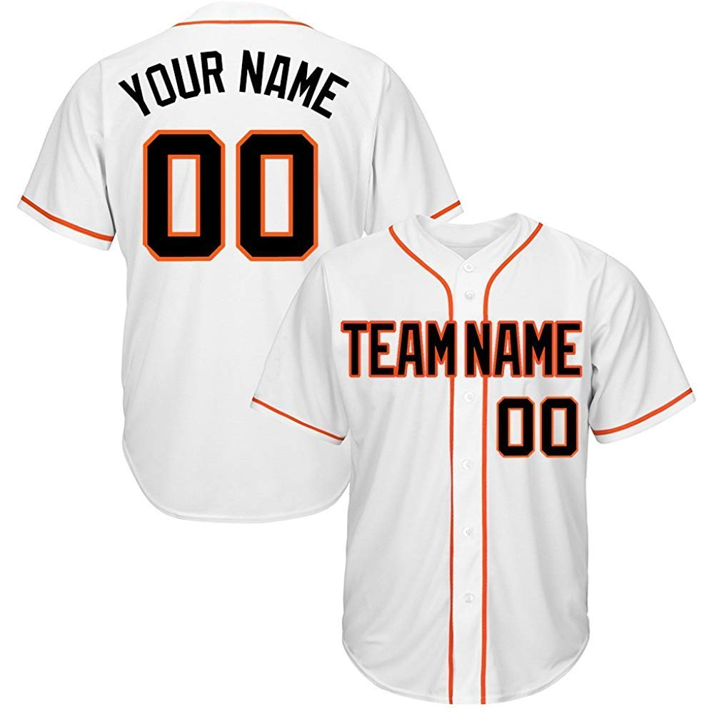 ff50caddf Get Quotations · Custom Baseball Jerseys - Design Your Own/Team Jerseys  with Team Name, Numbers for